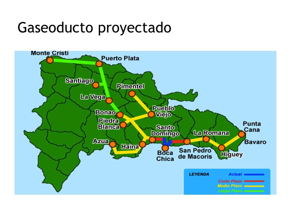 Gaseoducto proyectado