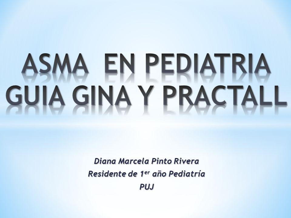 Diana Marcela Pinto Rivera Residente de 1 er año Pediatría PUJ