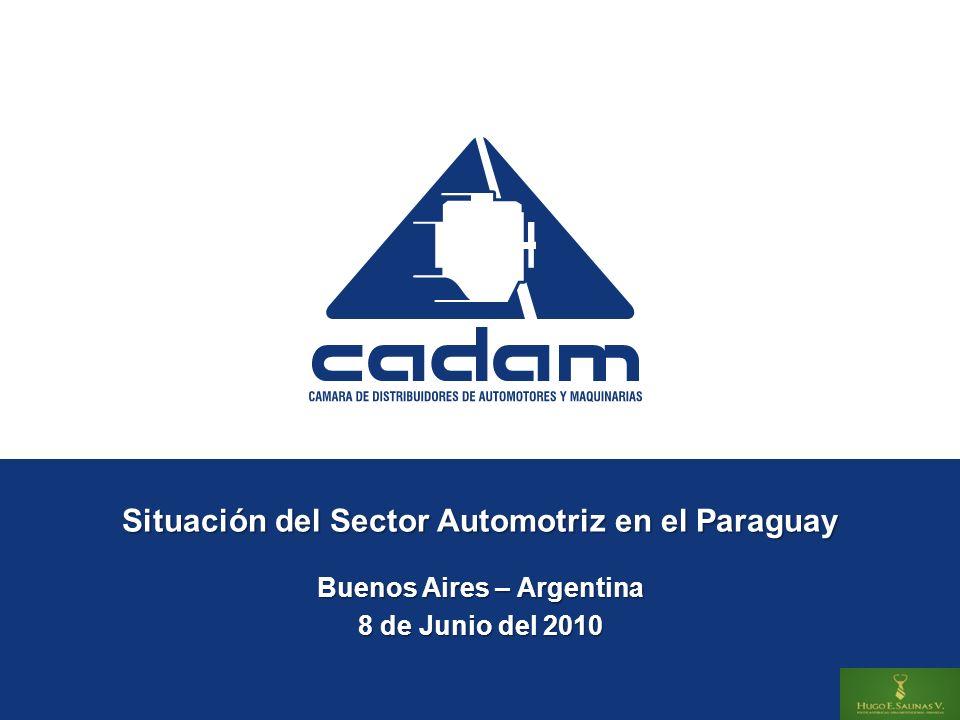 Situación del Sector Automotriz en el Paraguay Buenos Aires – Argentina 8 de Junio del 2010