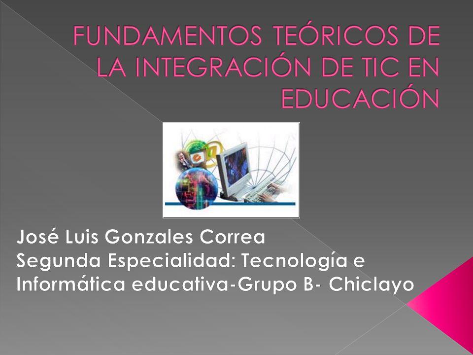 En el ámbito mundial, existe consenso en que el uso de las Tecnologías de la Información y Comunicación (TIC) aplicadas a la educación, crea diferentes fisonomías y ambientes pedagógicos y en consecuencia influyen poderosamente en los procesos de enseñanza-aprendizaje.