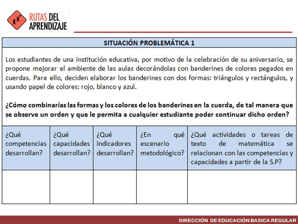 DIRECCIÓN DE EDUCACIÓN BASICA REGULAR