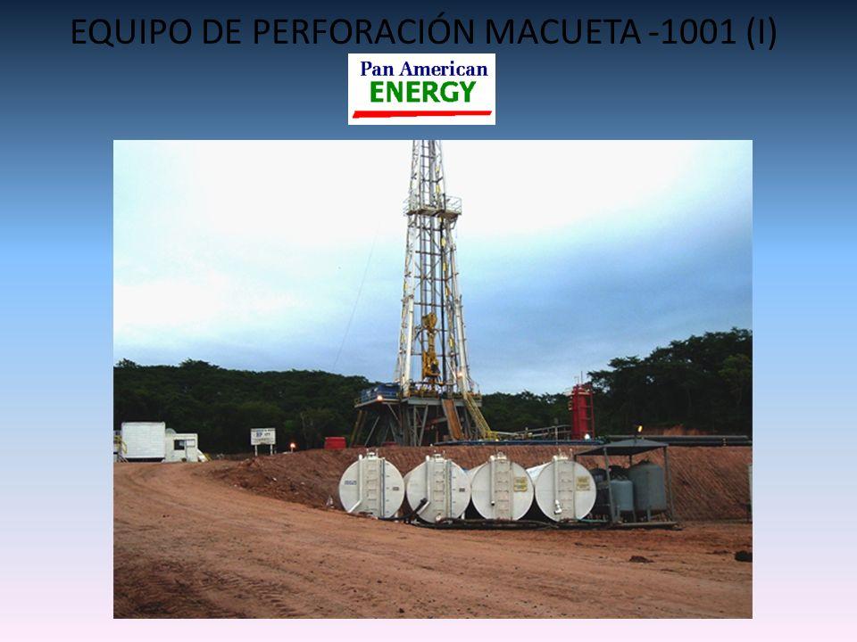 EQUIPO DE PERFORACIÓN MACUETA -1001 (I)