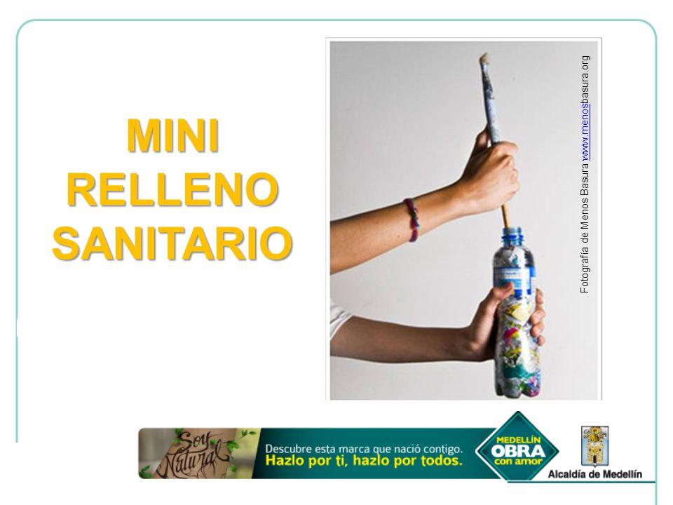 MINI RELLENO SANITARIO Fotografía de Menos Basura www.menosbasura.orgwww.menos