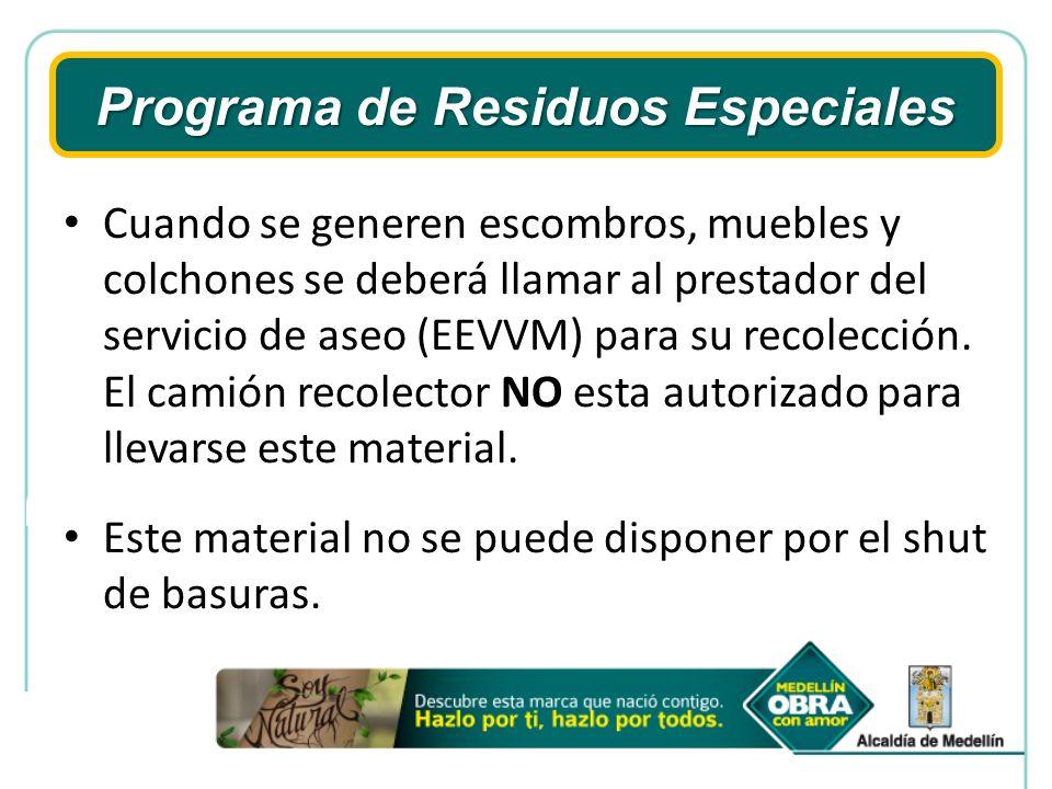 ANALISIS AN Cada año se deberá realizar la declaratoria de Residuos sólidos ante el AMVA.