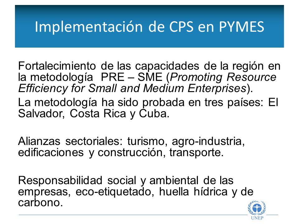 Compras públicas sostenibles Implementación de metodología del Grupo de Trabajo de Marrakech (MTF), en 4 países de la región: Chile, Colombia, Costa Rica, y Uruguay.