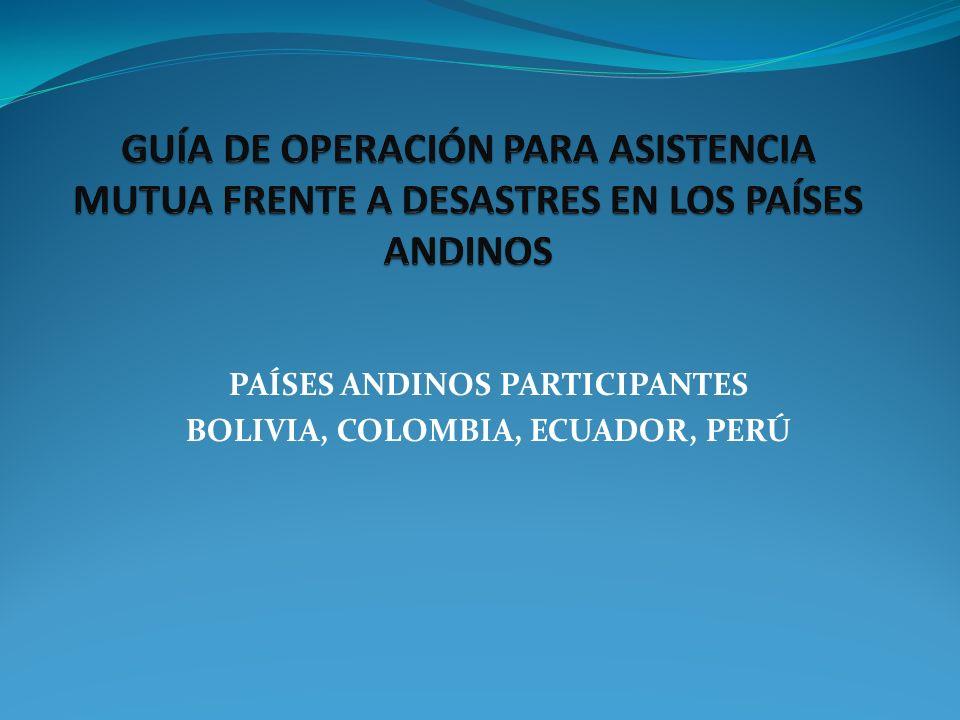 ÍNDICE 1.ANTECEDENTES 2. PRESENTACIÓN 3. ASPECTOS RELATIVOS A LA GUÍA DE ASISTENCIA MUTUA 4.