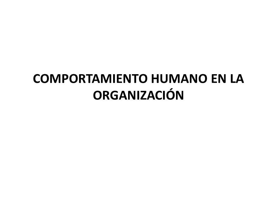 Introducción al Comportamiento Organizacional (CO) Campo de estudio en el que se investiga el impacto que individuos, grupos y estructuras tienen en la conducta dentro de las organizaciones, con la finalidad de aplicar estos conocimientos a la mejora de la eficacia de tales organizaciones.