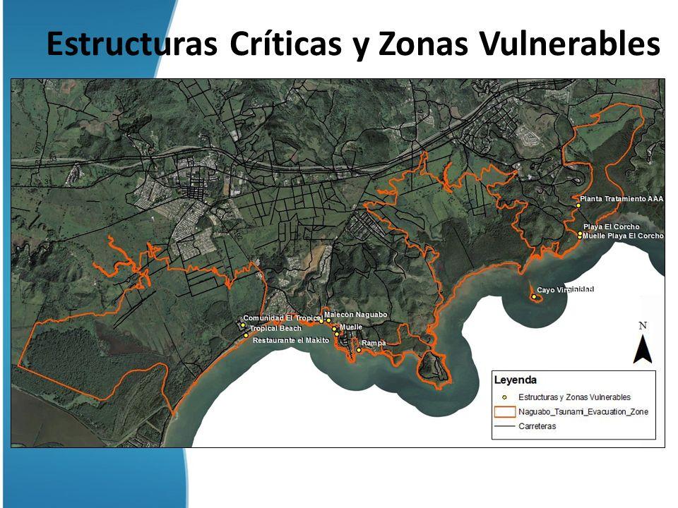 Estructuras Críticas y Zonas Vulnerables