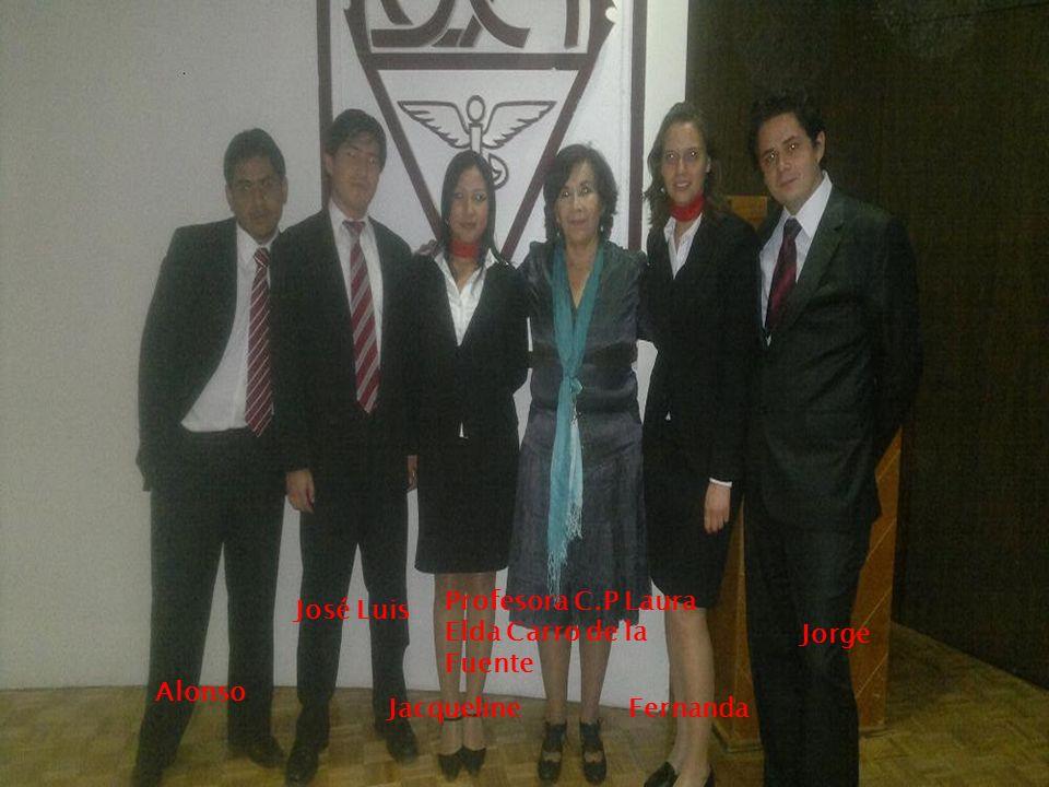 Alonso José Luis Jacqueline Profesora C.P Laura Elda Carro de la Fuente Fernanda Jorge
