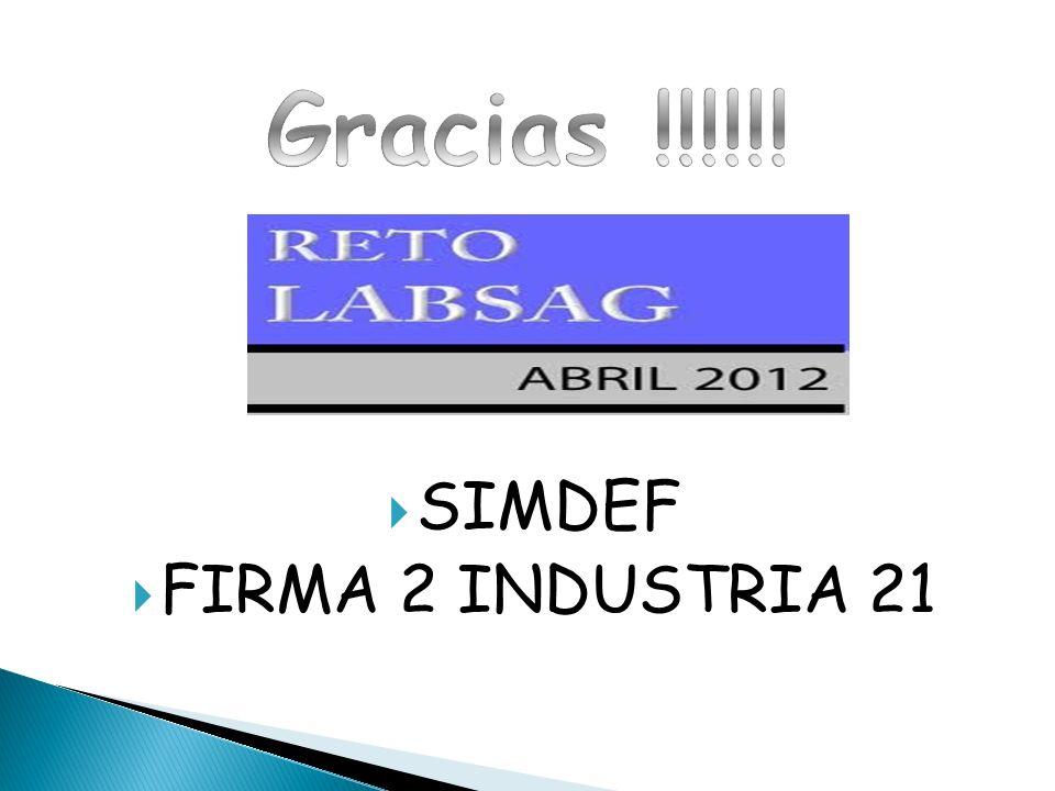 SIMDEF FIRMA 2 INDUSTRIA 21