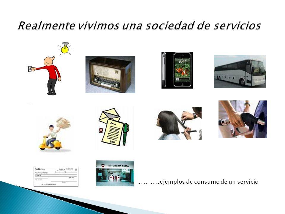 ……… ejemplos de consumo de un servicio