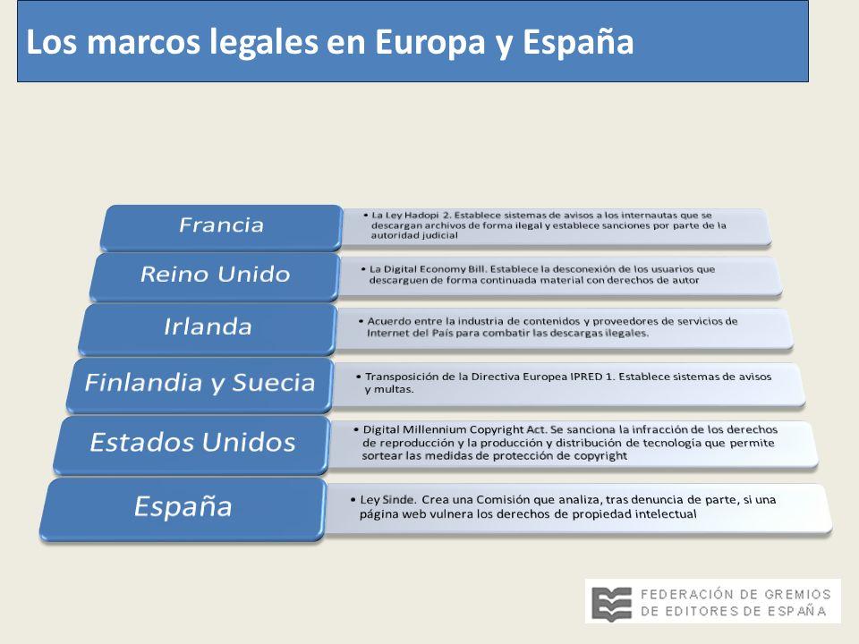 Los marcos legales en Europa y España
