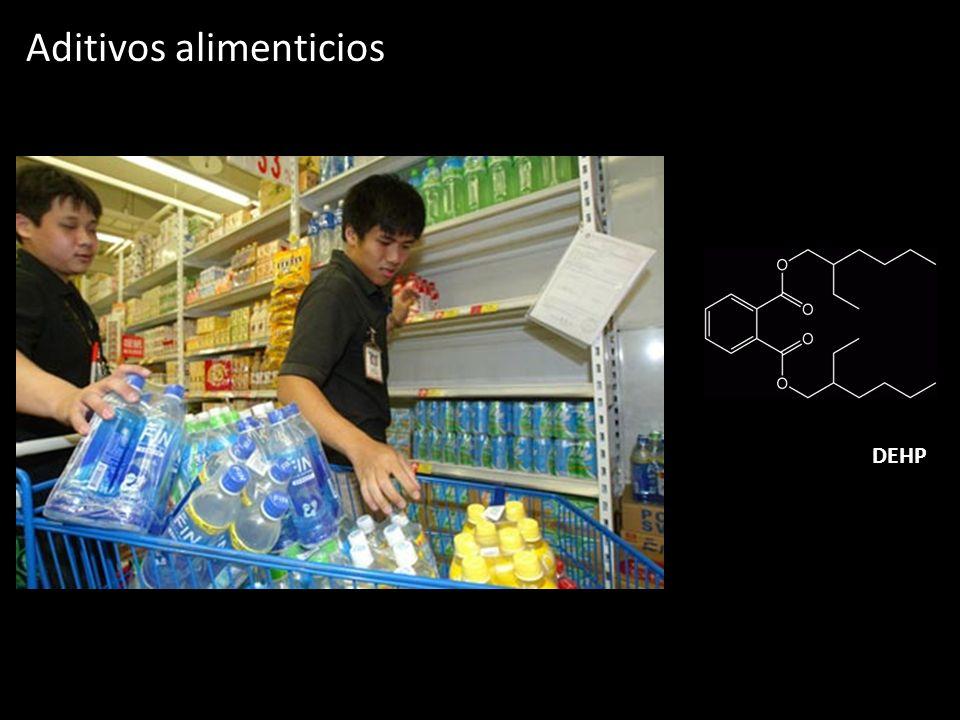 Aditivos alimenticios DEHP
