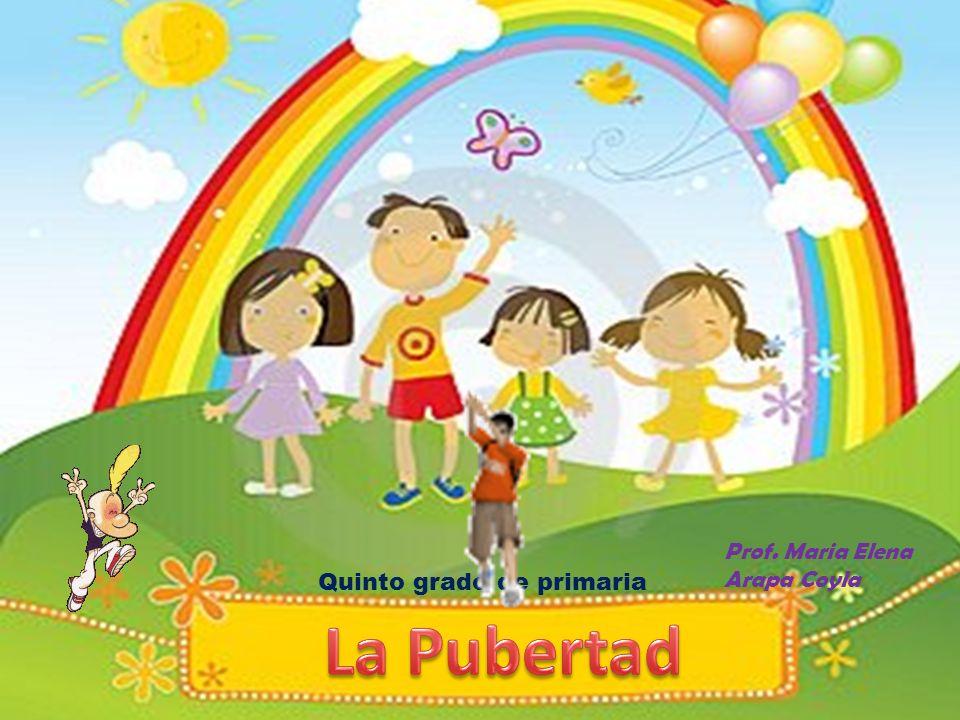 CONTENIDO I.- INTRODUCCION II.- LA PUBERTAD 2.1.Características de los niños y niñas en la Pubertad.