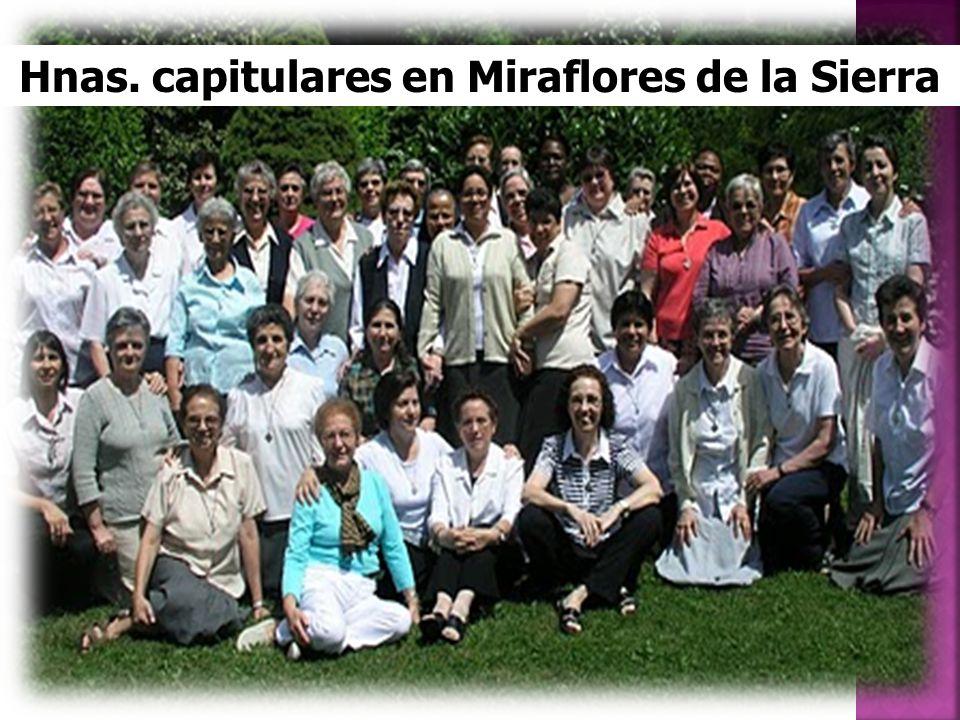 Hnas. capitulares en Miraflores de la Sierra