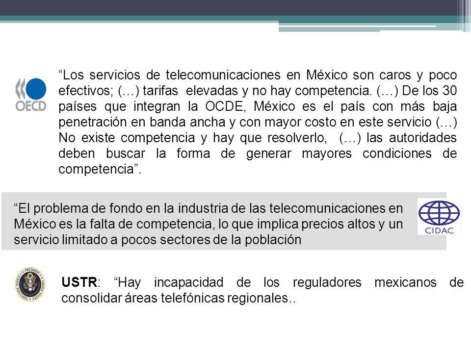 La Política de Competencia en el sector de las telecomunicaciones 8.