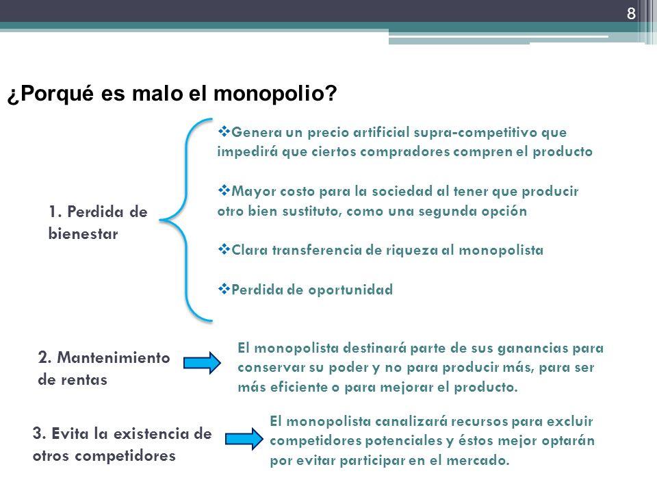 La Política de Competencia en el sector de las telecomunicaciones 2.