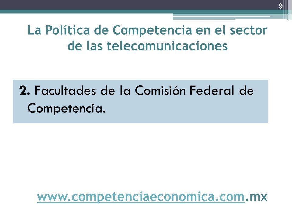 Casos de PMR en telecomunicaciones Investigaciones abiertas actualmente (2) 9.