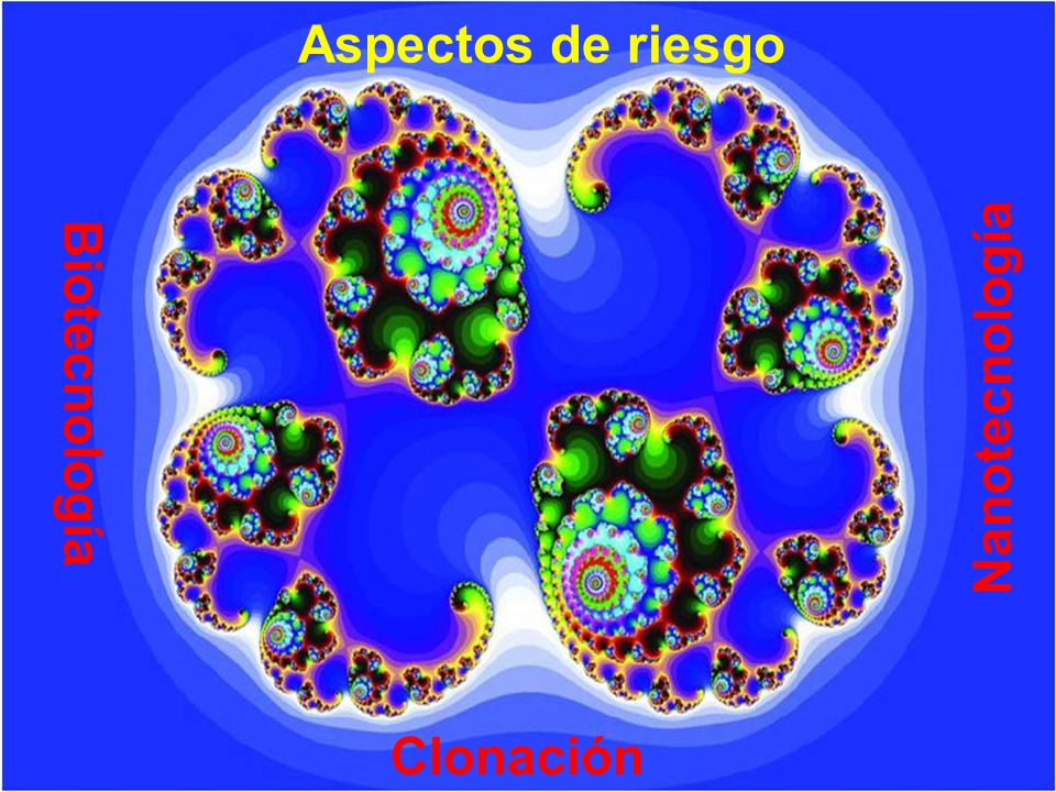 Aspectos de riesgo Biotecnología Nanotecnología Clonación