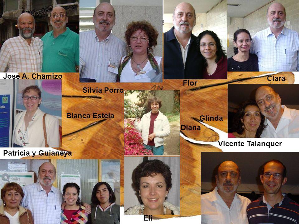 Y a los colaboradores más añejos y a mis alumnas recientes José A.