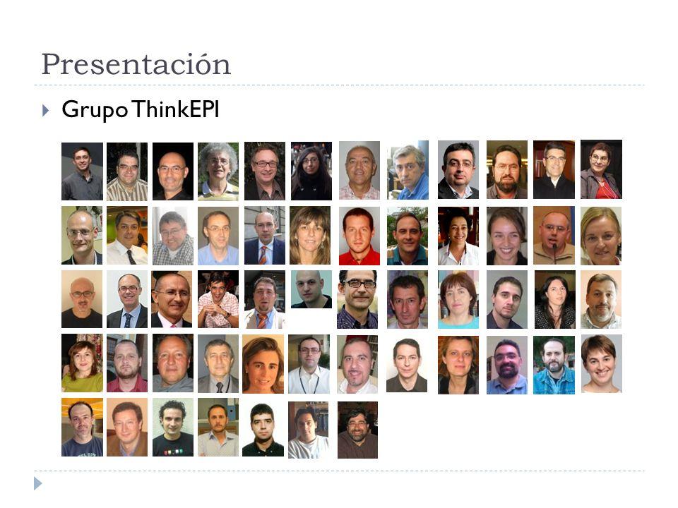 Presentación Grupo ThinkEPI