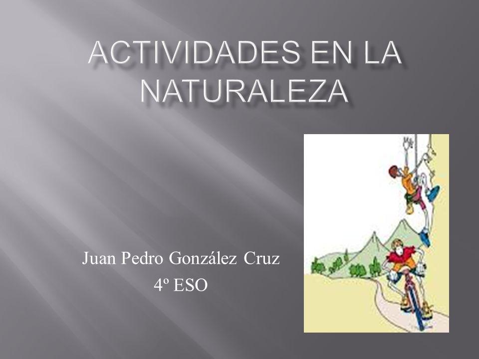 Juan Pedro González Cruz 4º ESO