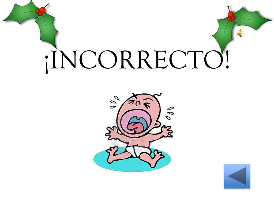 ¡INCORRECTO!