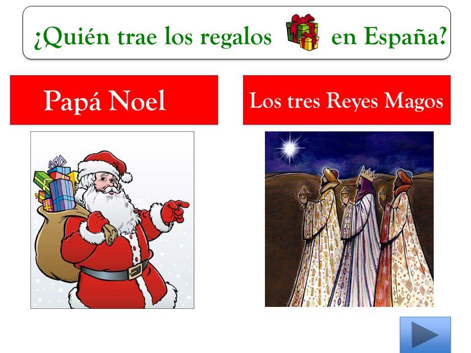 ¿Quién trae los regalos en España Papá Noel Los tres Reyes Magos
