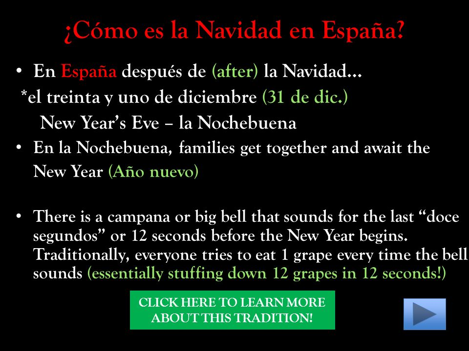¿Cómo es la Navidad en España.