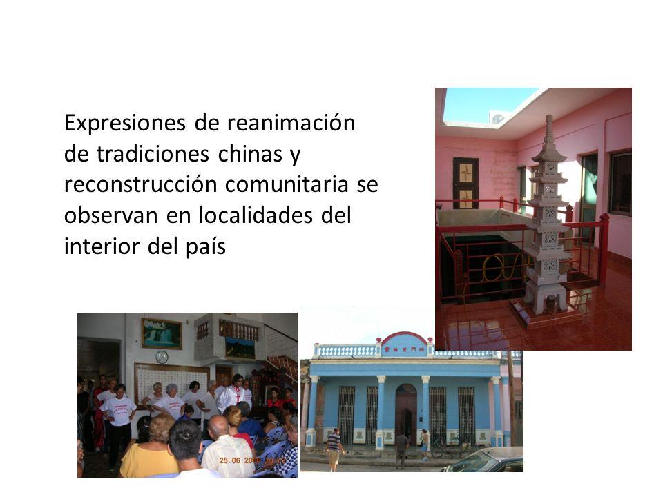 Expresiones de reanimación de tradiciones chinas y reconstrucción comunitaria se observan en localidades del interior del país