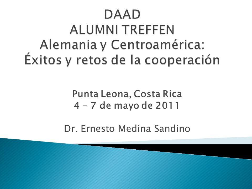Punta Leona, Costa Rica 4 – 7 de mayo de 2011 Dr. Ernesto Medina Sandino