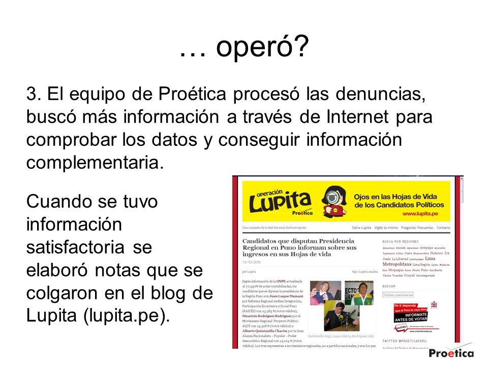 Candidato a reelección en San Bartolo Una denuncia nos advirtió que el postulante alcalde no había declarado información sobre su patrimonio privado.