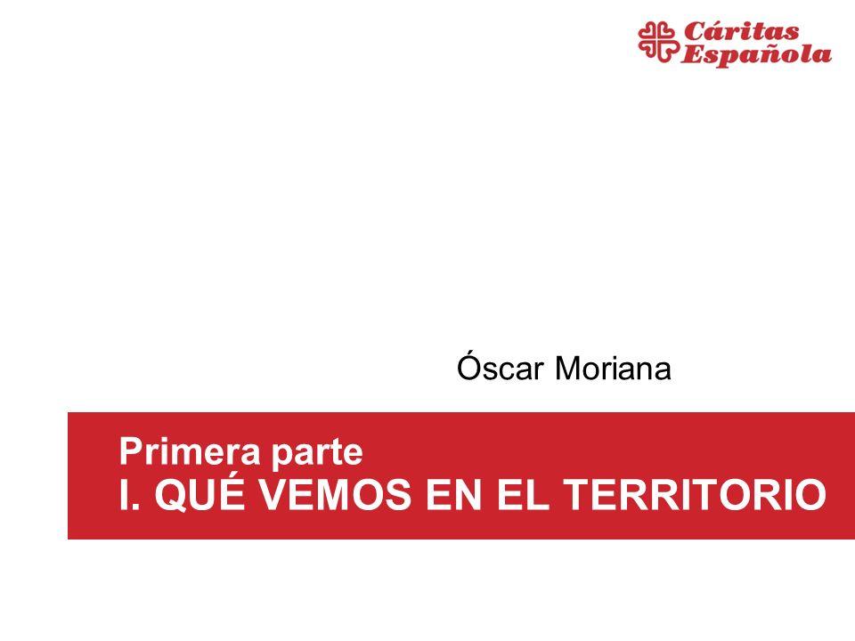 Primera parte I. QUÉ VEMOS EN EL TERRITORIO Óscar Moriana