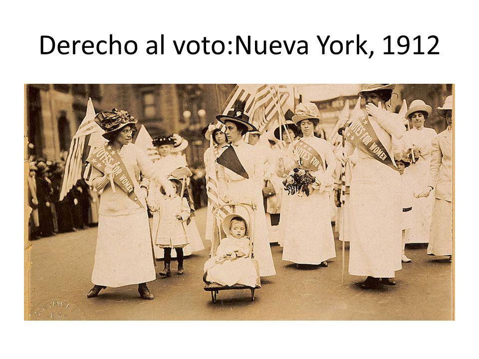 Derecho al voto:Nueva York, 1912