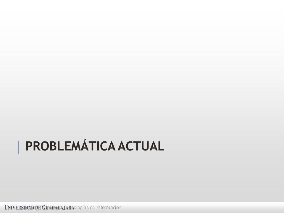 PROBLEMÁTICA ACTUAL Consejo Técnico de Tecnologías de Información