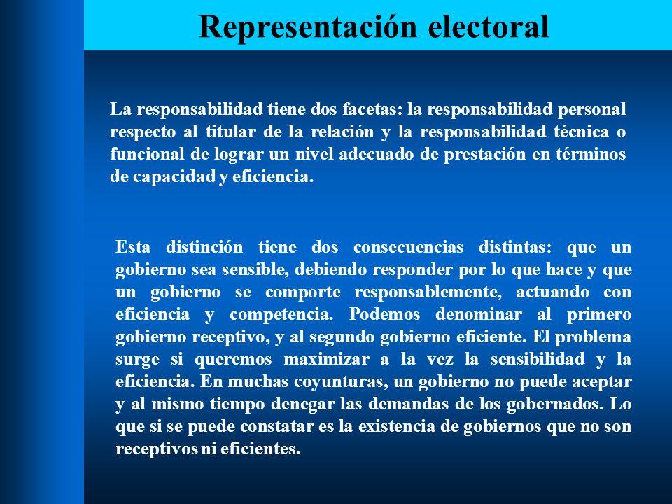 Representación electoral Los tipos de gobierno analizados se relacionan con dos tipos de sistemas electorales, cuyos orígenes se sitúan en Inglaterra y en Francia.