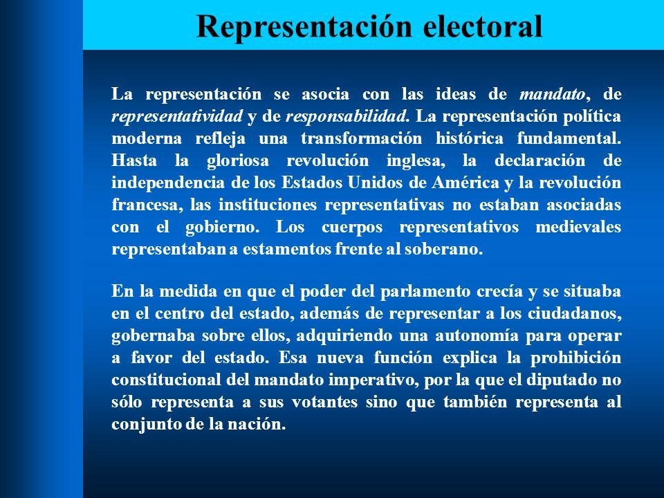 Representación electoral La responsabilidad tiene dos facetas: la responsabilidad personal respecto al titular de la relación y la responsabilidad técnica o funcional de lograr un nivel adecuado de prestación en términos de capacidad y eficiencia.