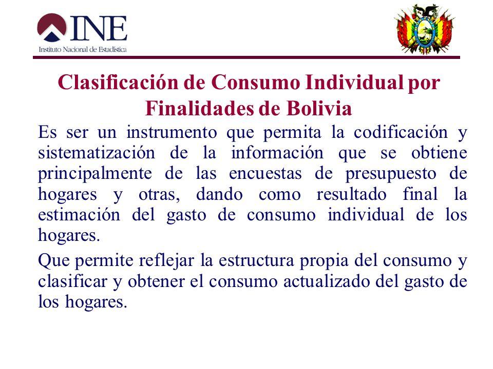 Clasificación de Ocupaciones de Bolivia NIVEL NOMBRE NUMERO CÓDIGO Primer nivel Gran Grupo 10 Partidas Numérico 1 dígitos Segundo nivel Subgrupo Princ
