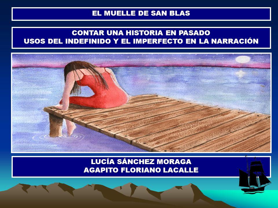 EL MUELLE DE SAN BLAS CONTAR UNA HISTORIA EN PASADO USOS DEL INDEFINIDO Y EL IMPERFECTO EN LA NARRACIÓN LUCÍA SÁNCHEZ MORAGA AGAPITO FLORIANO LACALLE