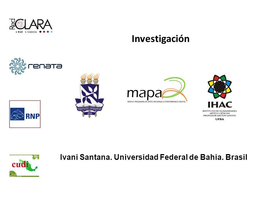 Investigación Ivani Santana. Universidad Federal de Bahia. Brasil