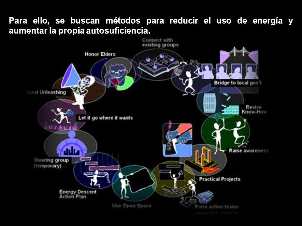 Para ello, se buscan métodos para reducir el uso de energía y aumentar la propia autosuficiencia.