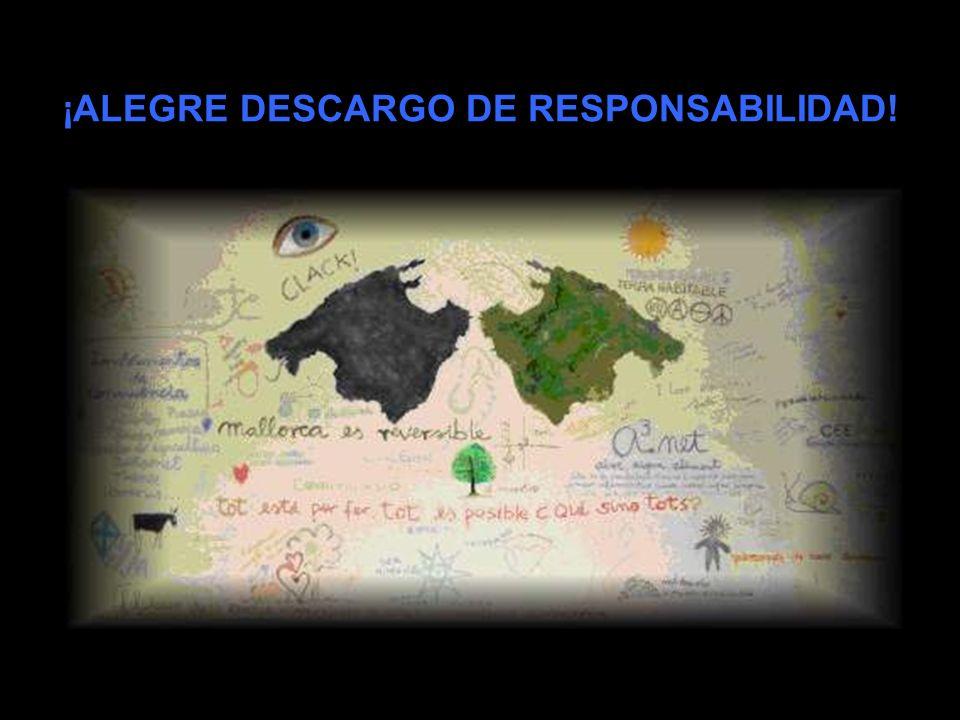¡ALEGRE DESCARGO DE RESPONSABILIDAD!