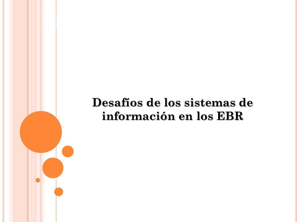 Desafíos de los sistemas de información en los EBR Ministerio de Economía y Finanzas Viceministerio de Hacienda Dirección General de Presupuesto Públi