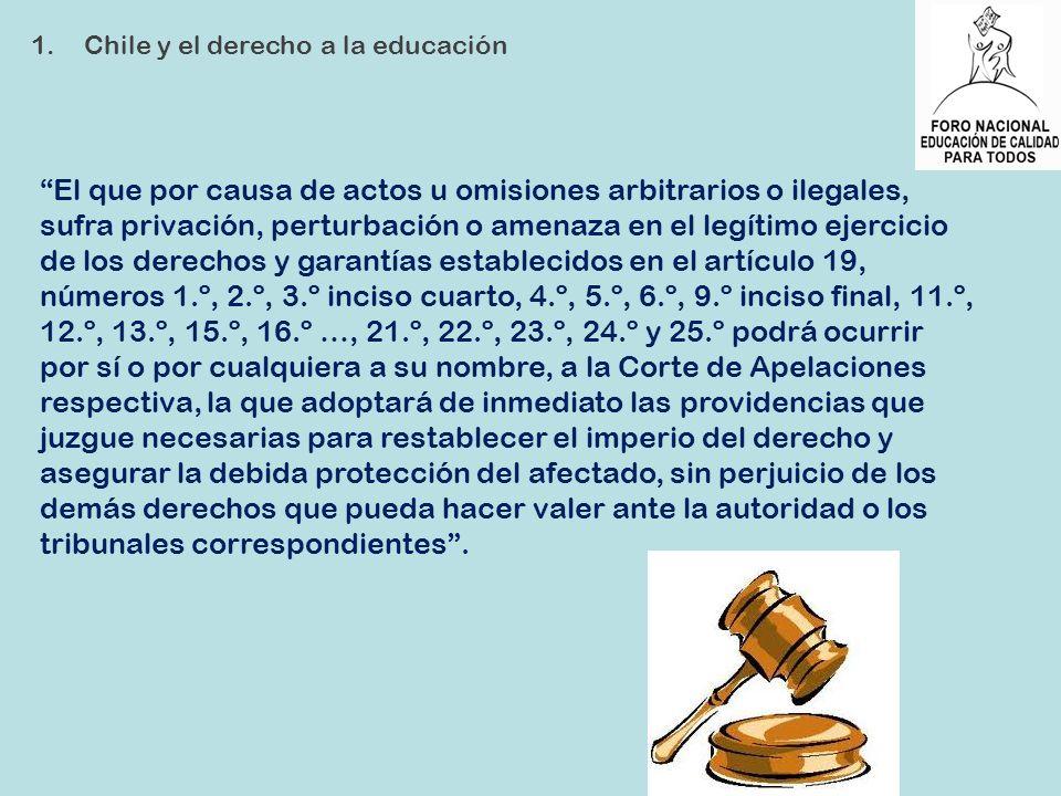 El que por causa de actos u omisiones arbitrarios o ilegales, sufra privación, perturbación o amenaza en el legítimo ejercicio de los derechos y garan