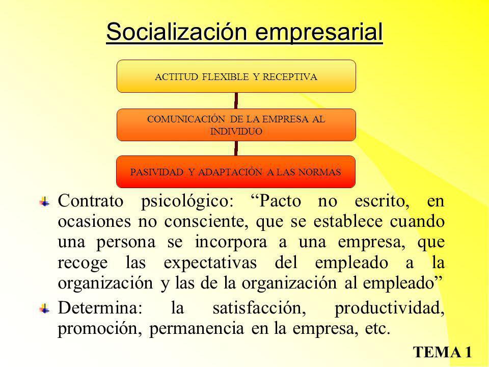 TEMA 1 Organización formal e informal Org.