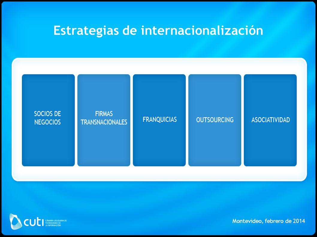 Estrategias de internacionalización Montevideo, febrero de 2014