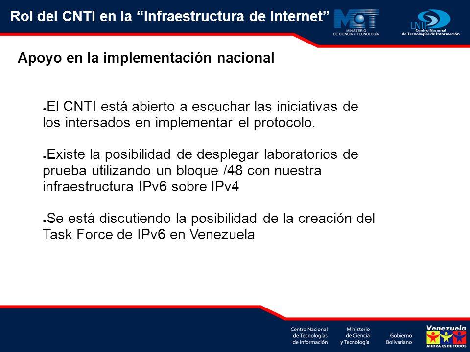 El CNTI está abierto a escuchar las iniciativas de los intersados en implementar el protocolo.