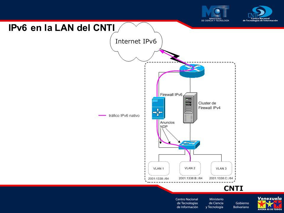 IPv6 en la LAN del CNTI