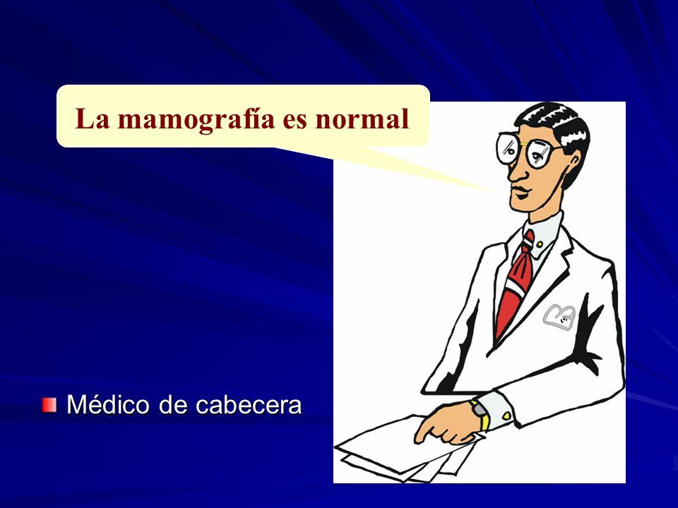 La mamografía es normal Médico de cabecera