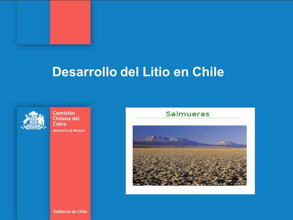 Desarrollo del Litio en Chile